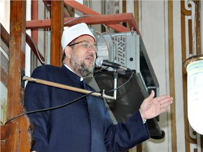 الجمعة| وزير الأوقاف يؤدي خطبة الجمعة بالحسين
