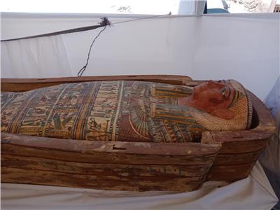 العناني يعلن تفاصيل «روي» أكبر مقبرة صف في البر الغربي بالأقصر
