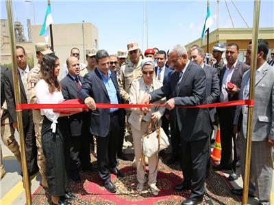 وزيرة البيئة تفتتح مصنعًا جديدًا لإنتاج الوقود البديل من المخلفات