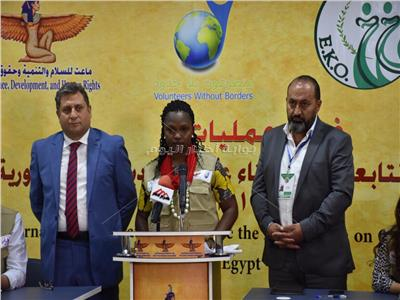 البعثة الدولية لمتابعة الاستفتاء: متواجدون في 14 محافظة ولدينا مترجمين