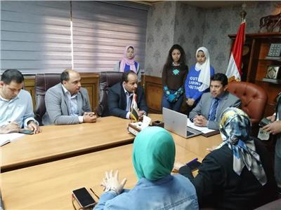 وزير الشباب يتابع مشاركة الشباب والرياضيين في التصويت على التعديلات الدستورية
