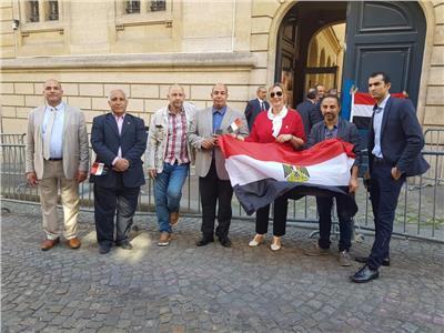 التعديلات الدستورية 2019| الجالية المصرية بفرنسا تشارك في الاستفتاء
