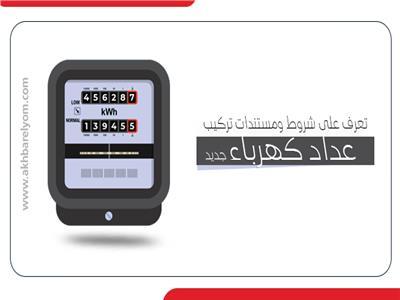 إنفوجراف | تعرف على شروط ومستندات تركيب «عداد كهرباء» جديد