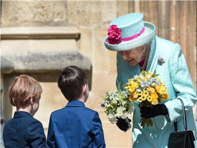 ملكة بريطانيا تحتفل بعيد ميلادها الـ93 بحضور قداس عيد القيامة