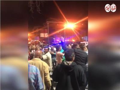 فيديو| احتفالات بميدان التحرير عقب إعلان نتيجة الاستفتاء على التعديلات الدستورية