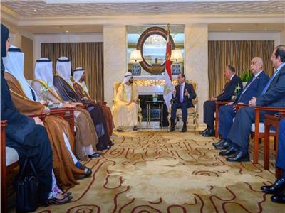 بن راشد بعد لقاء السيسي: نسعى للتنسيق الاقتصادي مع رئيس أكبر دول المنطقة