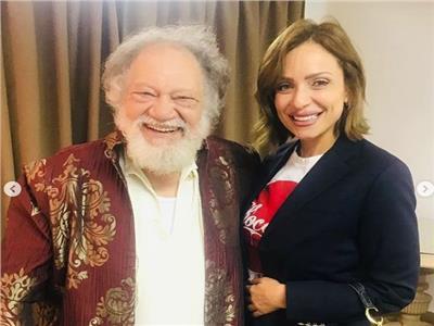صور| ريم البارودي تحضر مسرحية «الملك لير»: «الفن لسة بخير»