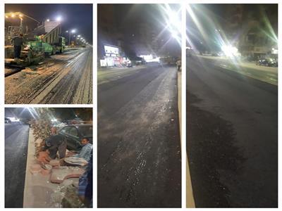 صور| بعد تطوير «ترسا».. بديل شارع الهرم «شكل تانى»