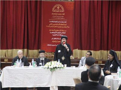 لجنة الكهنة وخدام الرعايا بمجلس كنائس مصر في ضيافة الأنبا مكاري