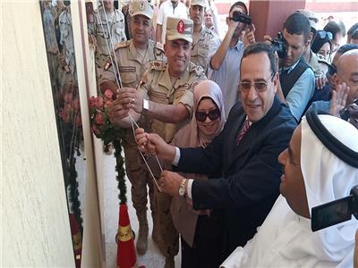 محافظ شمال سيناء يفتتح توسعات مدرسة ومعهد أزهري في بئر العبد