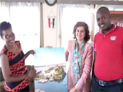 سفيرة مصر في بوروندي تروج لأسوان كعاصمة للشباب العربي والإفريقي