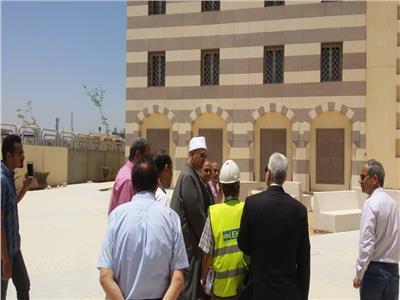 صور  أمين «البحوث الإسلامية» يتفقد المبنى الجديد لمكتبة الأزهر