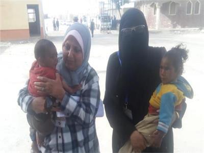التضامن: إنقاذ طفلتين من الموت في درجات الحرارة المرتفعة ببورسعيد
