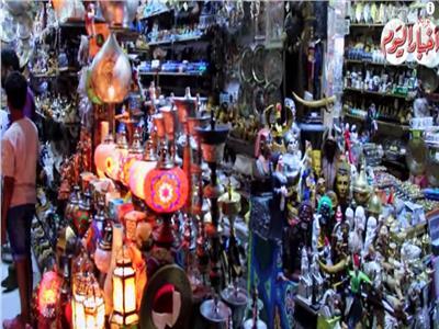 شاهد  ليالي رمضان في الحسين وشارع المعز