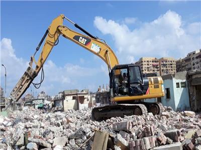 محافظة القاهرة تبدأ إزالة منطقة الحكر القديم بحي الشرابية
