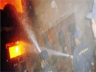 السيطرة على حريق داخل عقار بالمعصرة