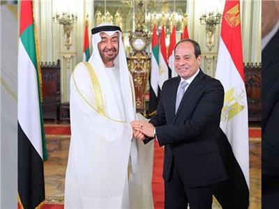 الرئيس السيسي يهنئ ولي عهد أبو ظبي بعيد الفطر