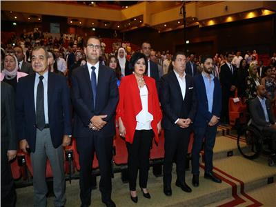 وزيرة الهجرة تشهد حفل تخرج دفعة جديدة من طلاب«الأكاديمية البحرية»