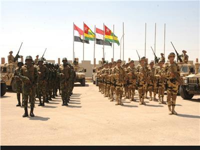 انطلاق التدريب المشترك لمكافحة الإرهاب لدول تجمع الساحل والصحراء بمصر
