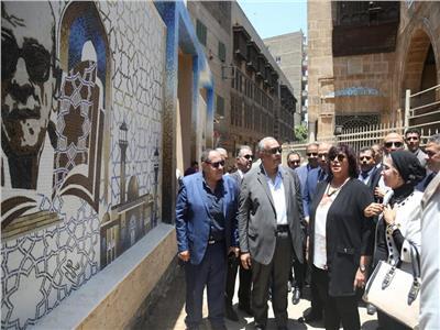 صور| الثقافة: افتتاح متحف نجيب محفوظ 30 يونيو