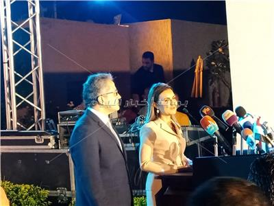 وزيرة الاستثمار: الفترة القادمة تشهد تطوير المتاحف المصرية