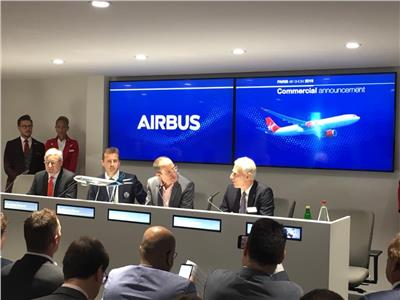 معرض باريس للطيران|فيرجن أتلانتيك تطلب 14 طائرة إيرباص A330