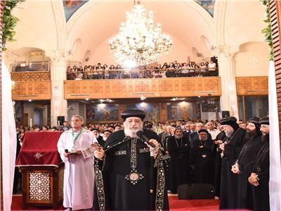 البابا تواضروسيبدأ احتفال كنيسة الأنبا تكلا باليوبيل الذهبي