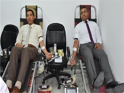 البترول  تطلق مبادرة بالشركات والحقول للتبرع بالدم