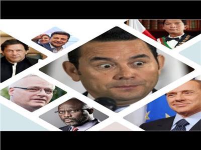 فيديو  آخرهم رئيس أوركرانيا.. فنانون ورياضيون حكموا العالم