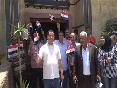 احتفالات بمدينة قليوب بمناسبة ذكرى ثورة ٣٠ يونيو
