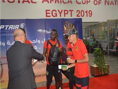 أمم إفريقيا 2019  منتخب موريتانيا يغادر مطار القاهرة بعد وداع «الكان»