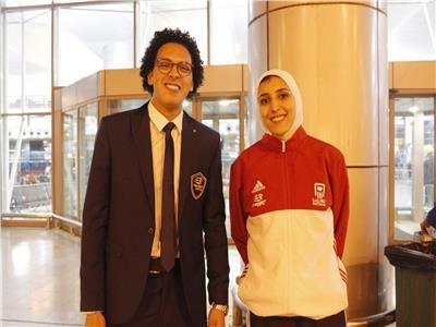 قبل سفرها إلى بتسوانا.. جيانا فاروق تعد جماهير مصر بميدالية أفريقية