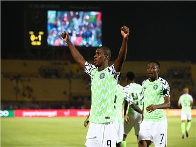 أمم إفريقيا 2019| إيجالو يسجل هدف التقدم لنيجيريا في تونس