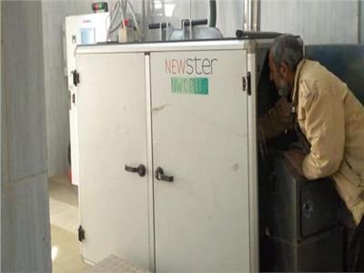 تشغيل أول جهاز لفرم وتعقيم النفايات الطبية بالقليوبية