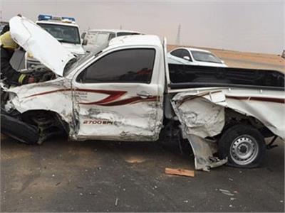 إصابة 25 شخصا في حادثين بطريق «مطروح - الإسكندرية»