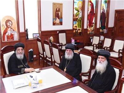الكنيسة تحتفل بتجليس رئيس دير العذراء بجبل أخميم