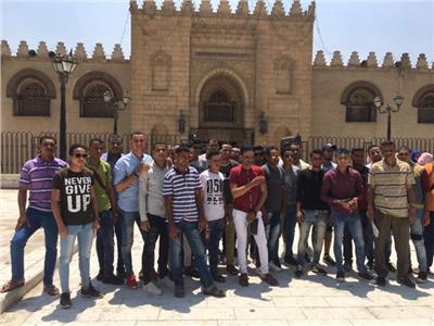 «الشباب والرياضة» تستقبل ٣٠٠ من أبناء المحافظات الحدودية المشاركين في «أهل مصر»