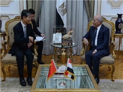 «العصار» يبحث مع سفير الصين سبل تعزيز التعاون المشترك