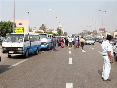 تعرف خطة تحويلات مرورية بمنطقة الهرم كبديل للغلق الجزئي