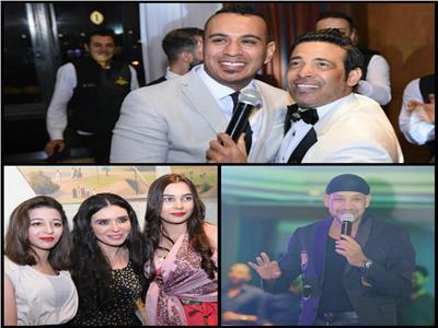 صور| الليثي ودينا وكاريكا والصغير في حفل «كامل العدد» بالقاهرة