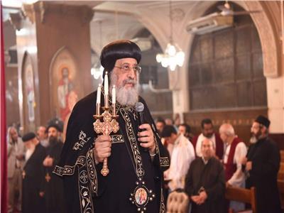 الكنيسة تحتفل بذكرى التحاق البابا تواضروس بدير الأنبا بيشوي