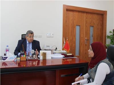 حوار| رئيس الجامعة الصينية: افتتاح كلية الصيدلة العام المقبل
