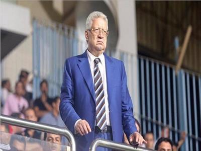 فيديو  مشادة بين مرتضى منصور ومدير الأهلي بمباراة السوبر