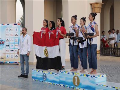 مصر تحصد ١٤ ميدالية في ثاني أيام بطولة العالم الشاطئية للتايكوندو