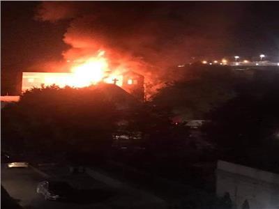 الكنيسة تصدر بيانًا بشأن حريق «مارجرجس بحلوان»: بلا إصابات