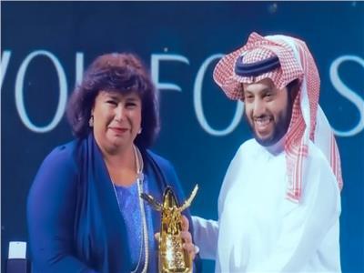 فيديو| تكريم وزيرة الثقافة بمؤتمر «صناعة الترفيه وبناء الاقتصاد» بالرياض