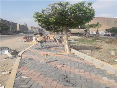 حل الأزمة المرورية والتكدسات بـ«كوبري عرابي»  في شبرا الخيمة| صور