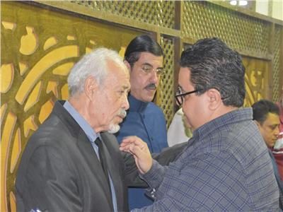 خالد جلال أول الحاضرين بعزاء مدرب الأسود محمد الحلو
