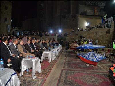 محافظ أسيوط يشهد احتفالية مديرية الثقافة بالمولد النبوي