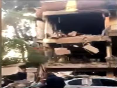 فيديو: طائرات إسرائيلية تستهدف منزل «العجوري» بدمشق